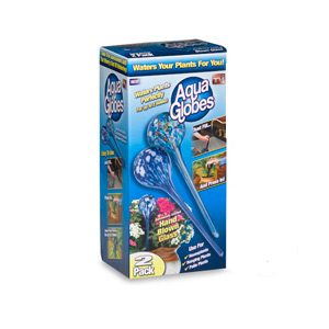 As Seen on TV Aqua Globes (2 Pack)