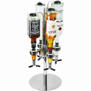 The Bar Butler - Rotary 4 Bottle Liquor Shot Dispenser