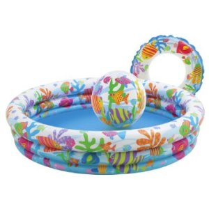 Intex 3-Ring-Pool-Set - Fishbowl by Intex