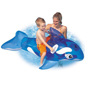 Intex Lil\' Whale Ride-On Float for 3+