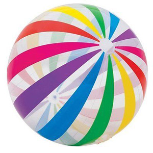 Intex - Jumbo Glossy Panel Ball - Stripes 42\