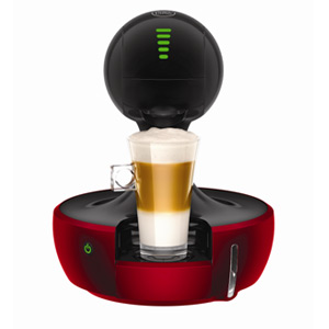 NESCAFE Dolce Gusto Drop Automatic Coffee Machine Metallic Red